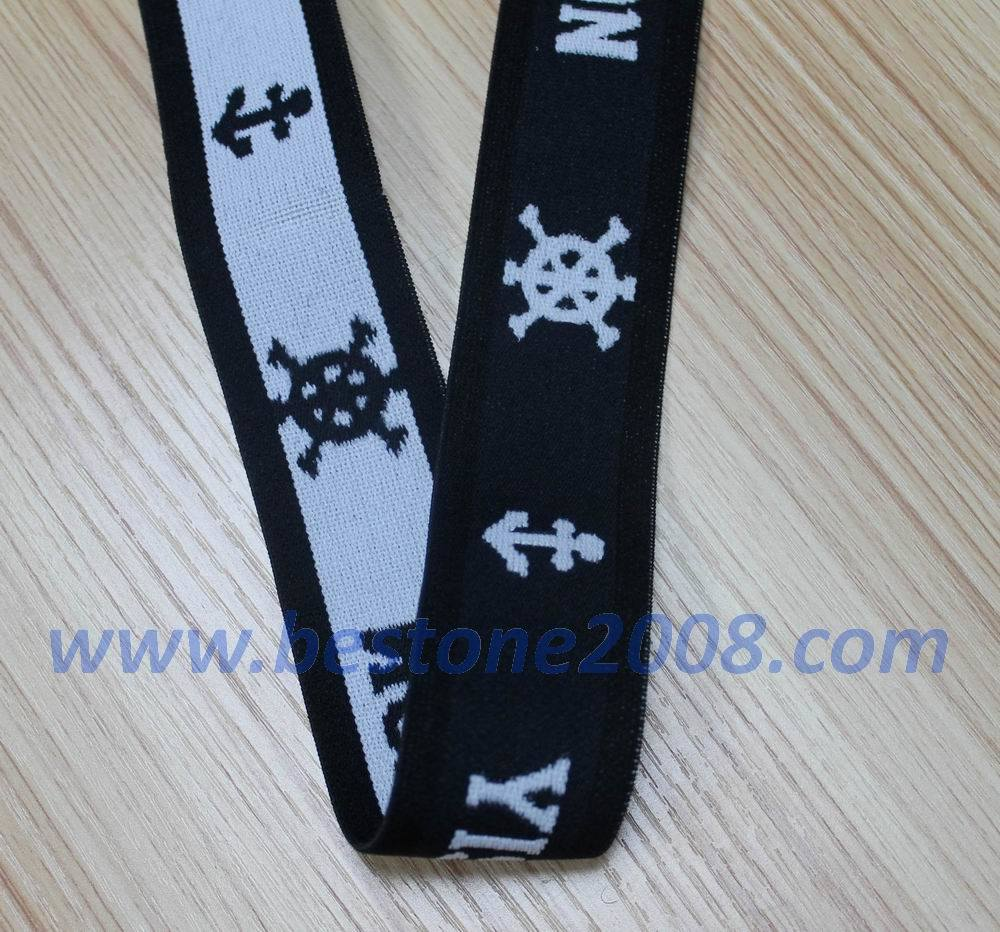High Quality Jacquard Elastic Band for Garment #1312-16