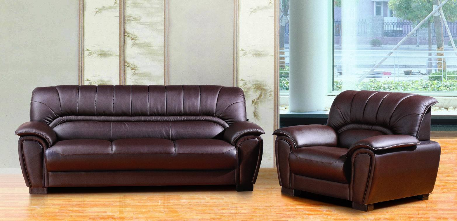 China sofa office leather sofa 70015 photos pictures - Tejidos para tapizar sofas ...
