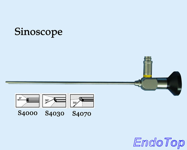 E. N. T. 4X175mm 2.7X175mm Rigid Endoscope Sinuscope