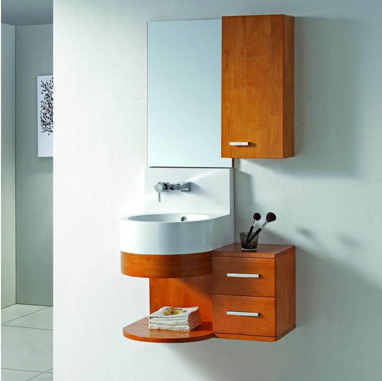 China Acrylic Sink Bathroom Cabinet Kl 276 China Bathroom Cabinet Solid Wood Bathroom Cabinets