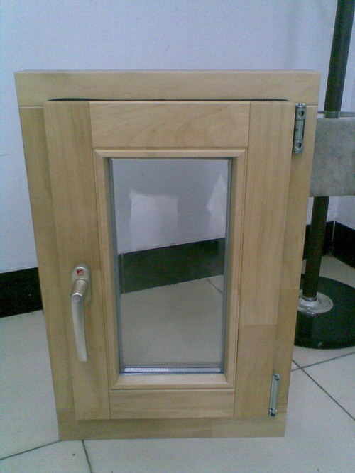 China german style solid wood windows 68dm china wood for Window in german