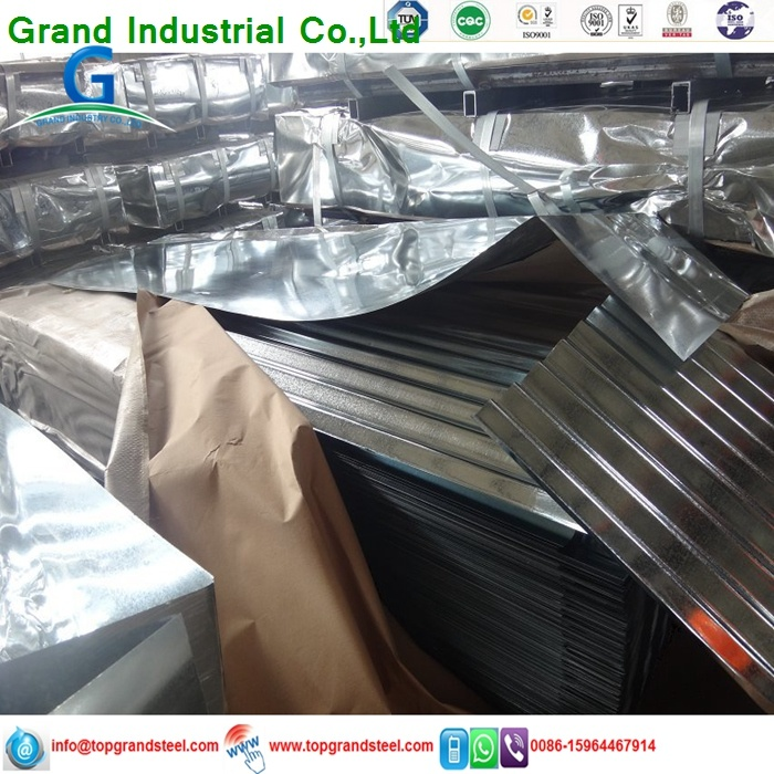 26 Guage Bwt 32 Hot DIP Galvanized Corrugated Zinc Roofing
