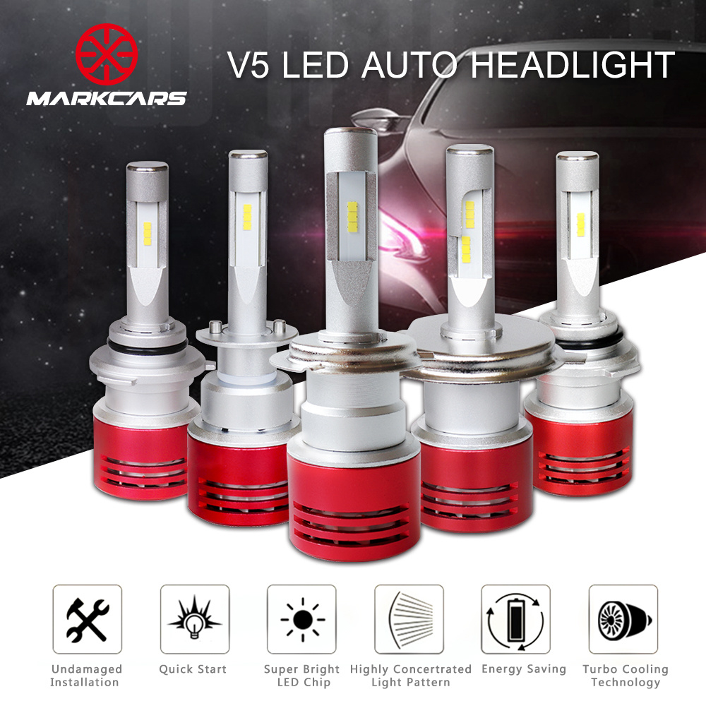 Markcars 9005 LED Auto Headligt Bulb with 8400lm