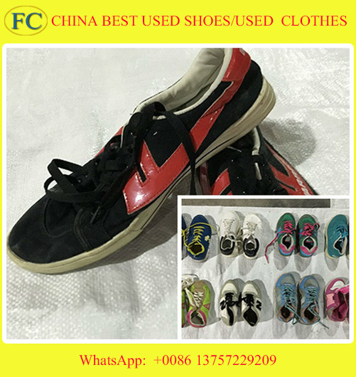 Big Size Man & Lady Sport Used Shoes, Leather Shoes, Leasure shoes for African (FCD-005)