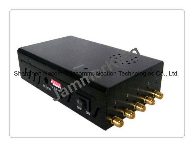China Cell Phone Jammer Blocker for 2g+3G+WiFi+Lojack / Portable 5 Bands WiFi Jammer - China Cell Phone Jammer, 2g+3G Jammer