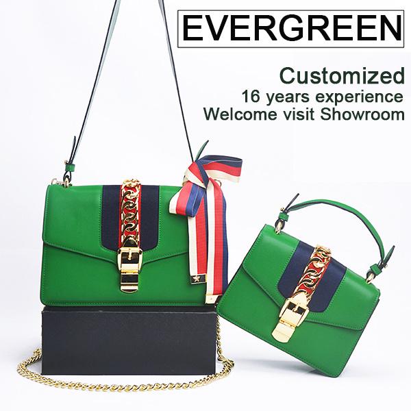 Guangzhou Factory New PU Leather Fashion Designer Women Female Tote Ladies Handbag Sy8352