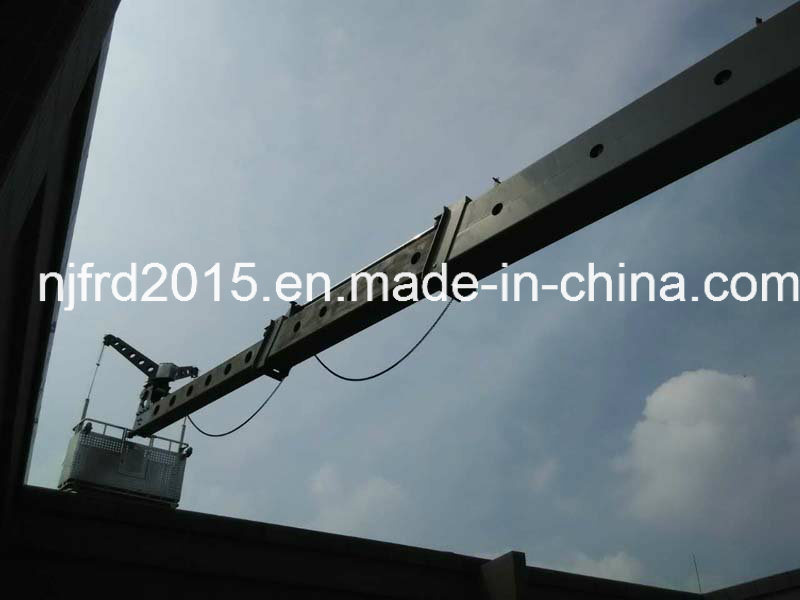 Telescopic Jib Bmu for Building Window Cleaning