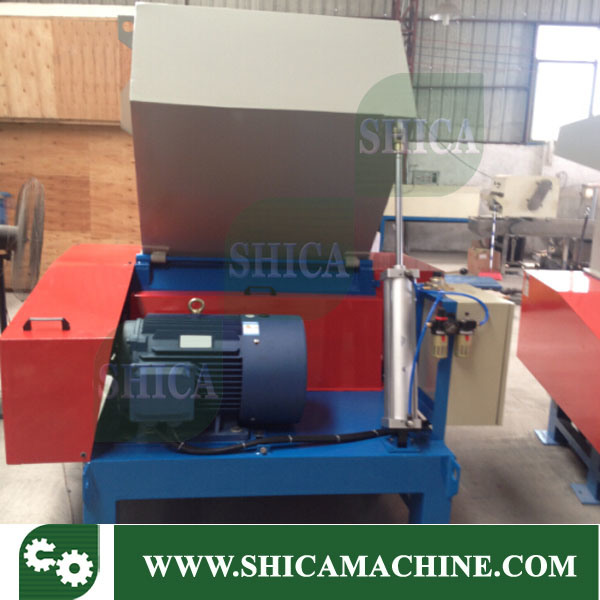 30HP Durable Industrial Waste Plastic Film Crusher with Cyclone System