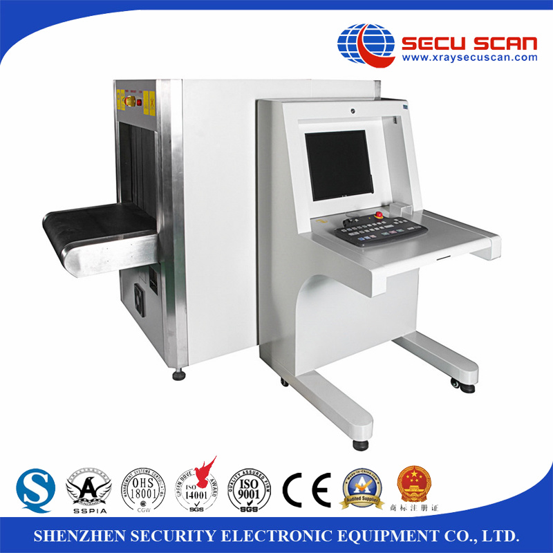 Dual-Energy X-ray Conveyor Belt Metal Detector for Baggage, Cargo Inspection
