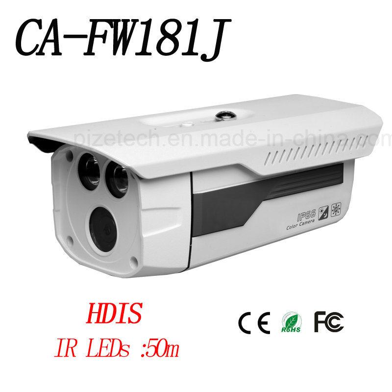 Analog Camera 720tvl IR Camera Bullet Camera IP Bullet Camera{Ca-Fw181j-B}