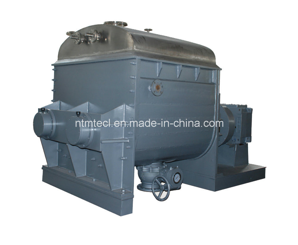 Kneader with Ball Valve, Tilting, Screw Extruding Discharge for CMC, Cellulose, Ink, Plasticine, Carbon, Rubber