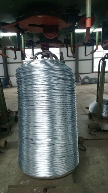High DV Steel Wire Hot DIP Galvanizing Production Line with Ce Certified