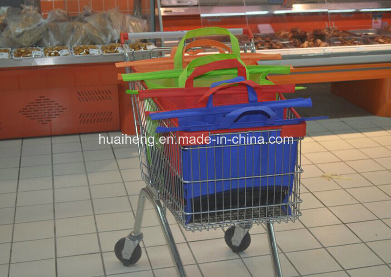Reusable Supermarket Trolley Shopping Bag Grocery Trolley Bag