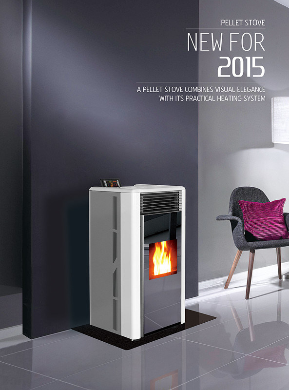 2015 Best Selling Pellet Stove Cr-02