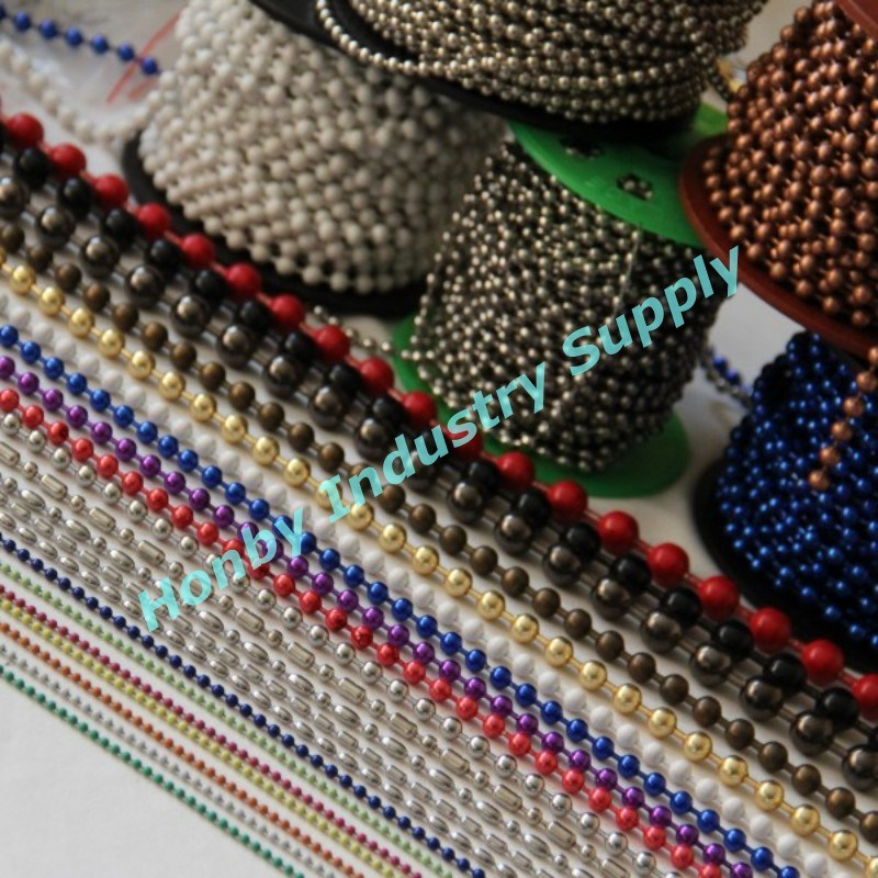 Honby Decorative Metal Bead Ball Chains