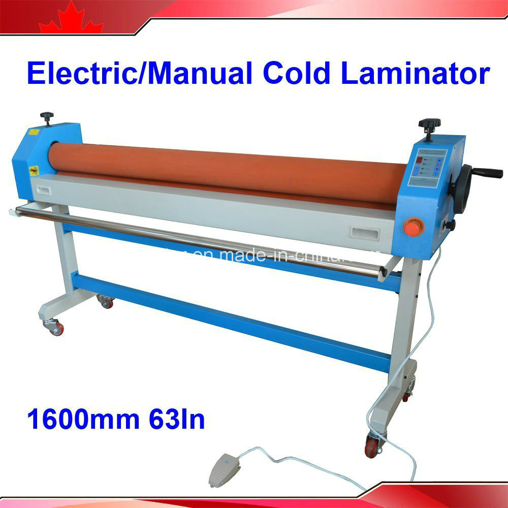 BFT-1600E 1600mm 63inch Large Format Advertisement Cold Laminator