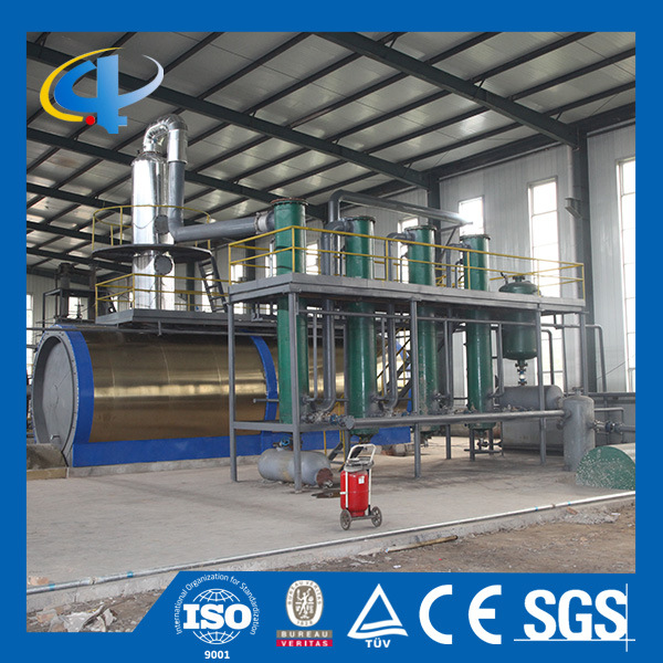 Waste Tires Oil Distillation Machine