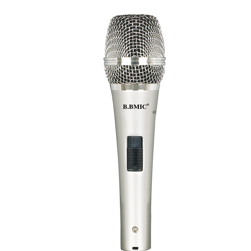 Good Sound Quality Condenser Microphone with Wire for Computer Karaoke