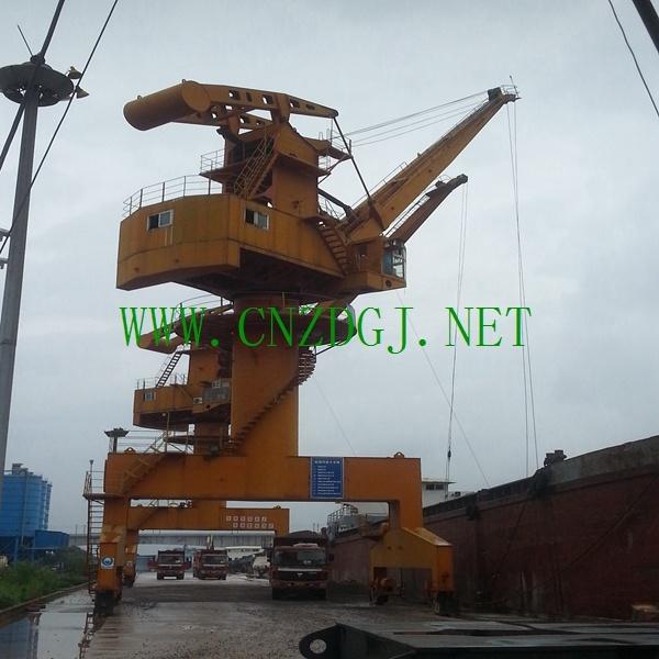Mobile Wheel Portal Crane