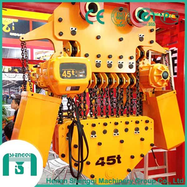 High Working Efficiency Electric Chain Hoist