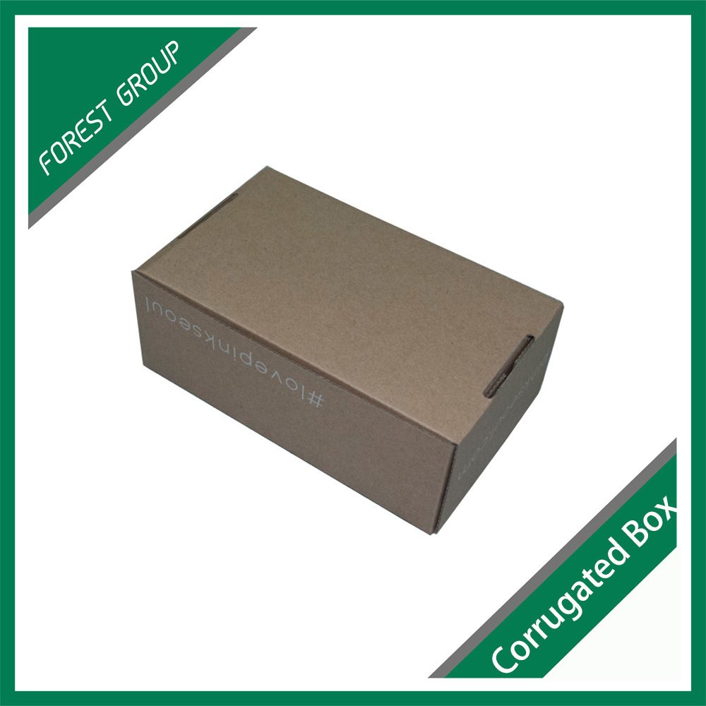 Custom Printed Corrugated Box Brown Corrugated Packing Box Without Glue