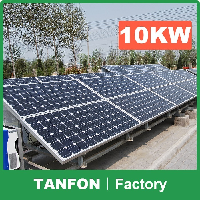 Tanfon Solar Power System with Optimum Usage to Extend Battery Life