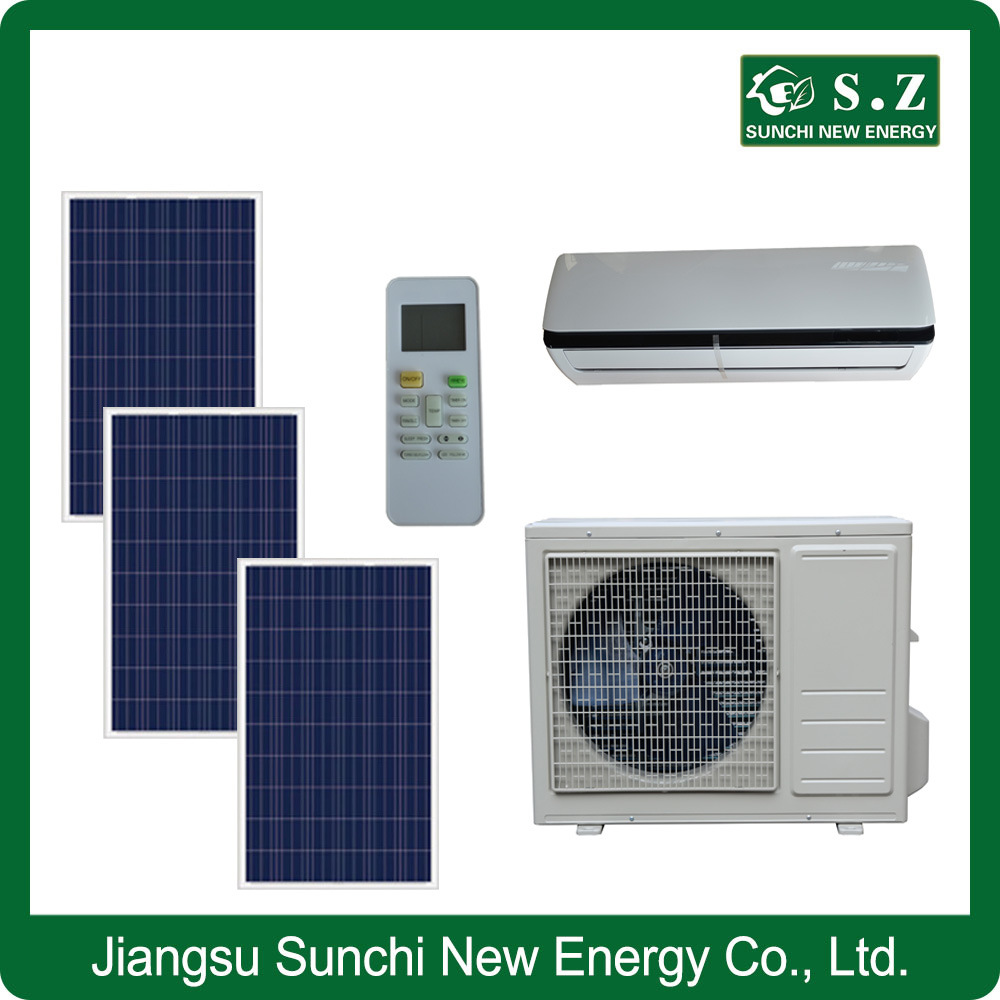 Acdc 50-80% Wall Split Home Using Solar Panel AC System