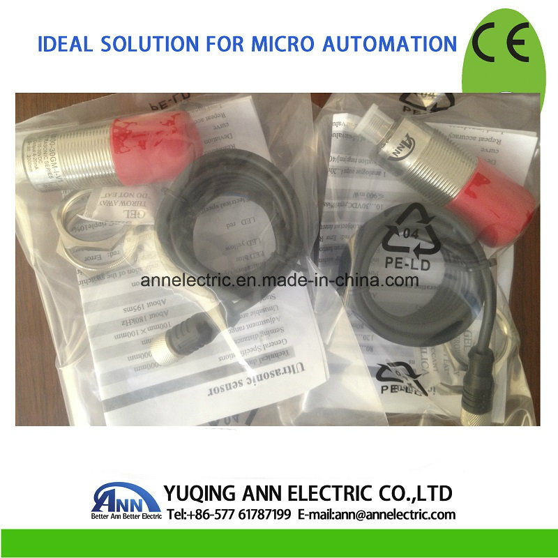 M30 Ultrasonic Sensor, Ub2000-30GM75-I-V1, Sensor