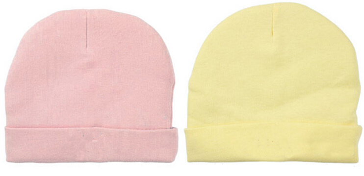 Organic Bamboo Infant Soft Beanies