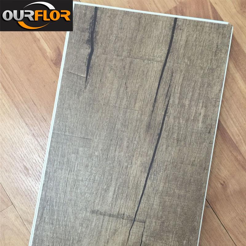 100% Waterproof WPC Vinyl Flooring Tiles / WPC Flooring Planks for Indoor Use