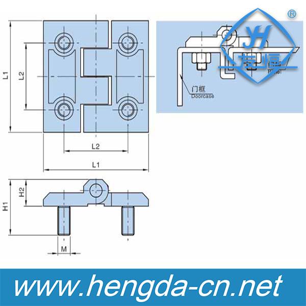 Wooden Door Hinge Cabinet Lock Hinge (YH9359)
