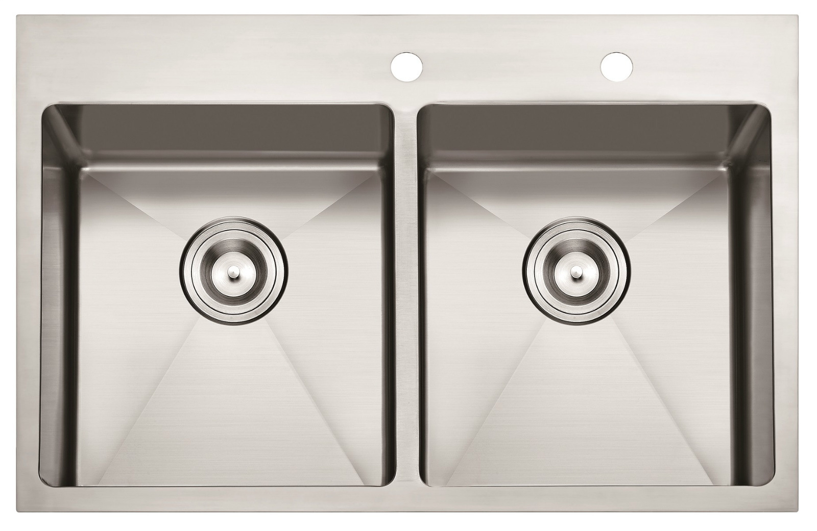 "American Standard Hm3322 32""X22""X10"" Topmount Hand Made Stainless Steel Kitchen Sink"