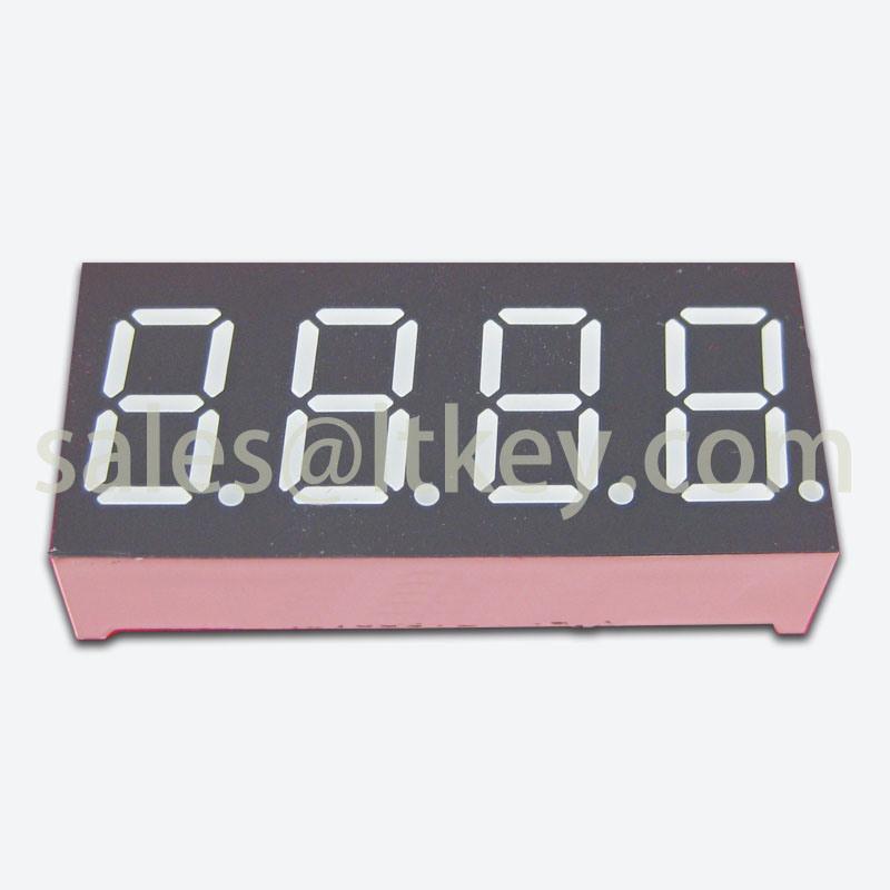 0.36 Inch 4 Digits 7 Segment LED Display