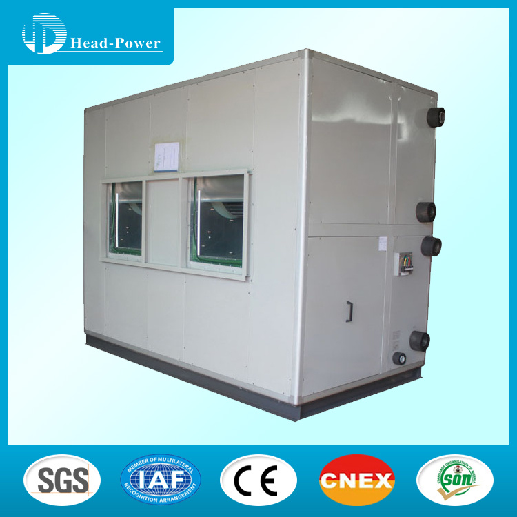 10 Ton Double Skin Chilled Water Ahu Ventilation Air Handling Unit