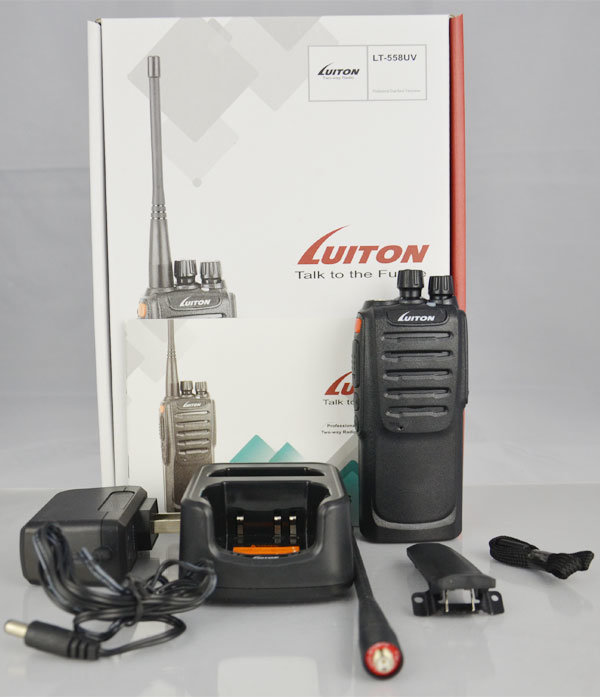 Lt-558UV Dual Band Handheld Two Way Radio