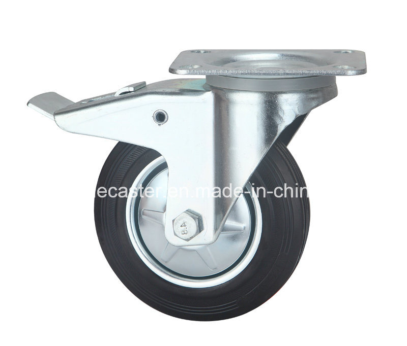 "Europe Type Industrial 8"" Rubber Wheels"
