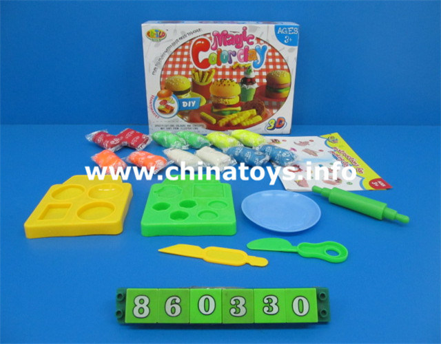 Mulit-Colored Clay Play Dough for Kids Educational Plastic Toys (860330)