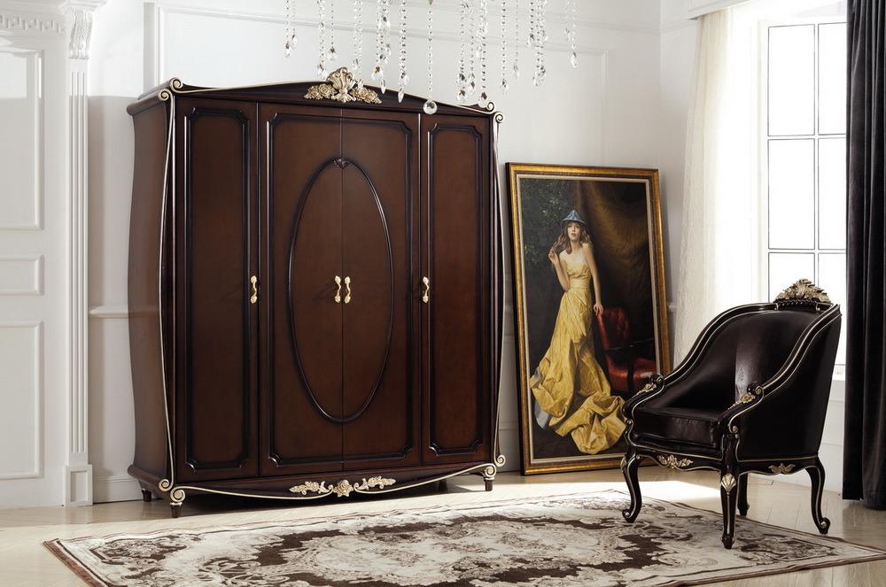 Classical Wooden Bedroom Furniture-Jl-B1001b Bedroom