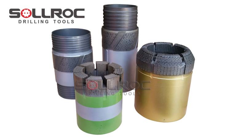 Impregnated Diamond Core Drilling Bit
