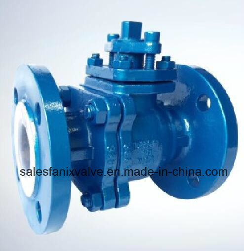 Fluorine Lined Ball Valve GB, ANSI, JIS, DIN, BS