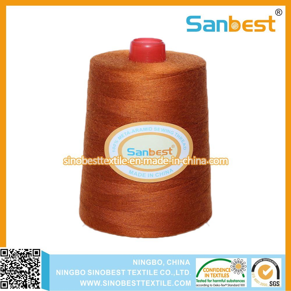 100% Meta-Aramid Fire-Retardant Sewing Thread