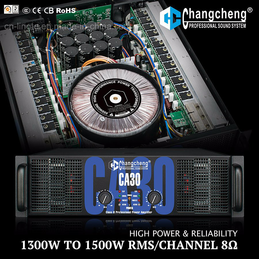 Ca30 Ca40 Series High Power Class H Professional Power Amplifier.