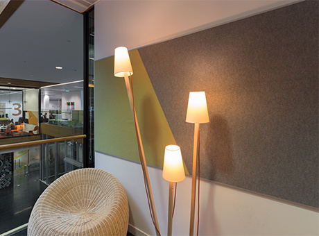 Polyester Fiber Acoustic Wall Panel, Nrc Board, Sound Board
