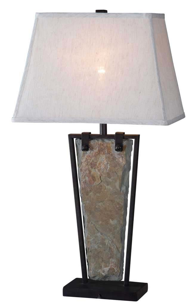 Slate Table Lamp for Indoor with UL Certificate