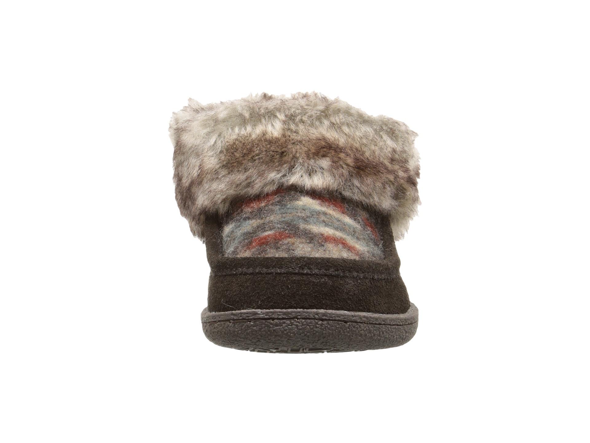 Warm Max Side Stitch TPR Sole Memory Foam Slipper