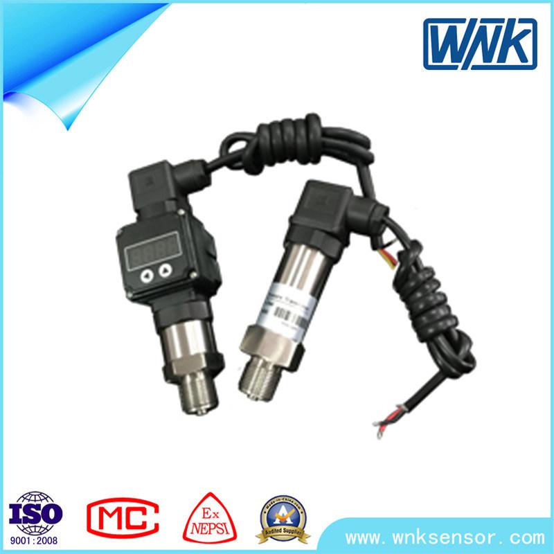 ISO 9001 4~20mA/0~20mA/0~10mA/1~5V Pressure Transducer with LED Display