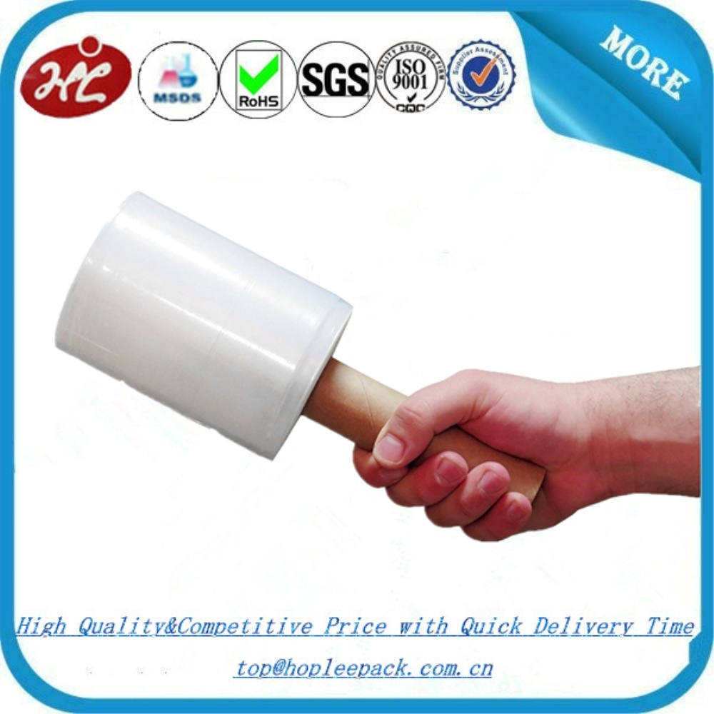 Manual Colored Stretch Rolls Bundling Stretch Film