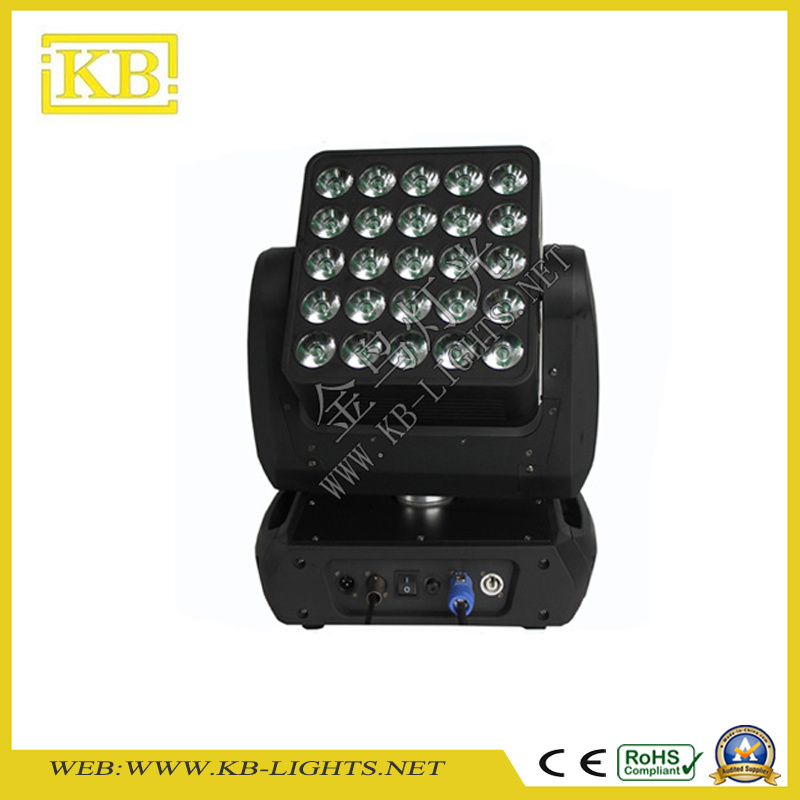 5*5PCS 15W 4in1 Osram LED Moving Head Matrix Light