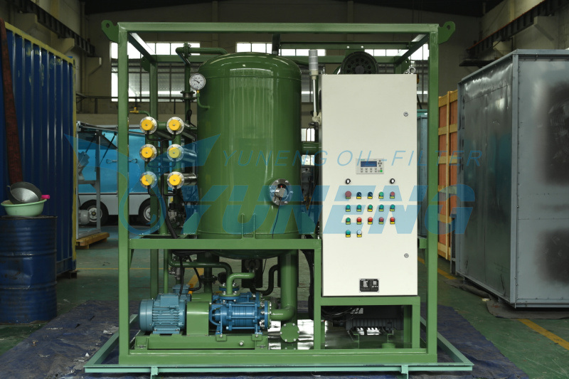 Two Stage High Vacuum Transformer Oil Filtration Machine Zja Series