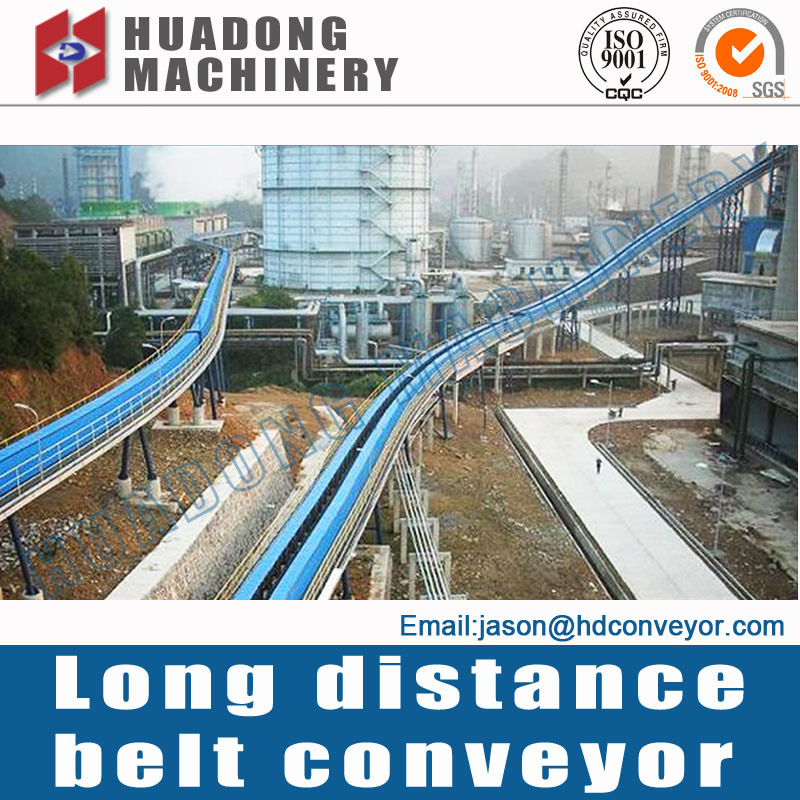 General Lay-out of Long-Distance Conveyor
